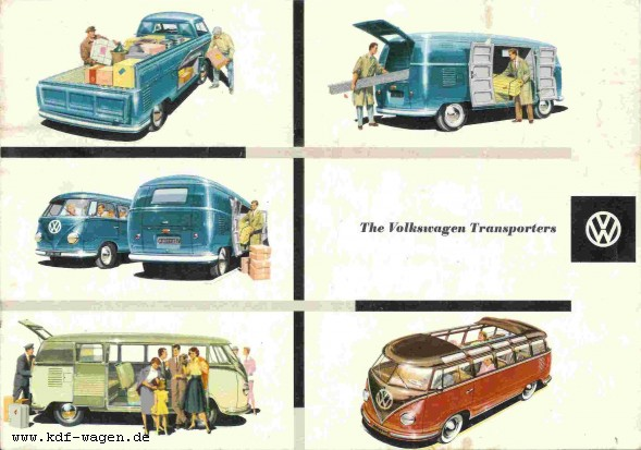 VW - 1958 - The Volkswagen Transporters - W 1/22e - [2308]-1
