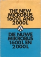VW - 1972 - The new Microbus 1600L and 2000L - [2333]