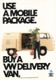 VW - 1981 - Use a mobile package. - 45184 10/81 - [2370]