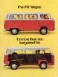 VW - 1977 - The VW Wagon. It's more than you bargained for. - 33-22-76020 - [2394]