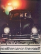 VW - 1960 - Why is the volkswagen like no other car on the road? - 151 180 22 - [2419]