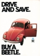 VW - 1982 - Drive and save bay a Beetle. - 45516 7/82 - [2458]
