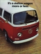 VW - 1972 - It´s a station wagon more or less. - 33-22-26010 B - [2459]