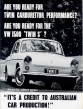 VW - 1965 - Are you ready for twin carburator performance? - [2481]