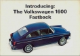 VW - 1965 - Introducing the Volkswagen 1600 Fastback - F-9/65-87/13F - [2525]