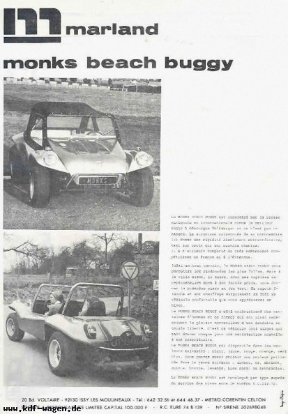 VW - 1977 - Marland Monks Beach Buggy - [2618]-1