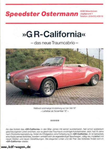 VW - 1987 - Ostermann - GR California - [2650]-1