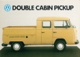 VW - 1984 - Double Cabin Pickup - 45954 01/84 - [2690]