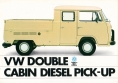 VW - 1982 - VW Double Cabin Diesel Pick-Up - 45474 08/82 - [2692]