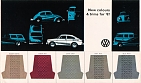 VW - 1967 - New colours & trims for 67 - [2770]
