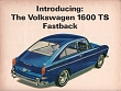 VW - 1965 - Introducing the Volkswagen 1600 TS Fastback - [2771]