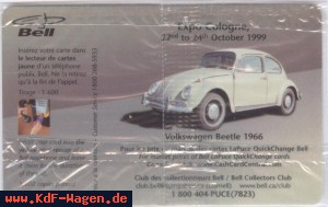 VW - 1999 - Volkswagen Beetle 1966 Expo Cologne 22nd to 24th October 1999 - 99 10 B30332 - [2855]