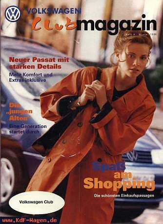 VW - 1996 - Volkswagen Club magazin - 04 - [4778]-1