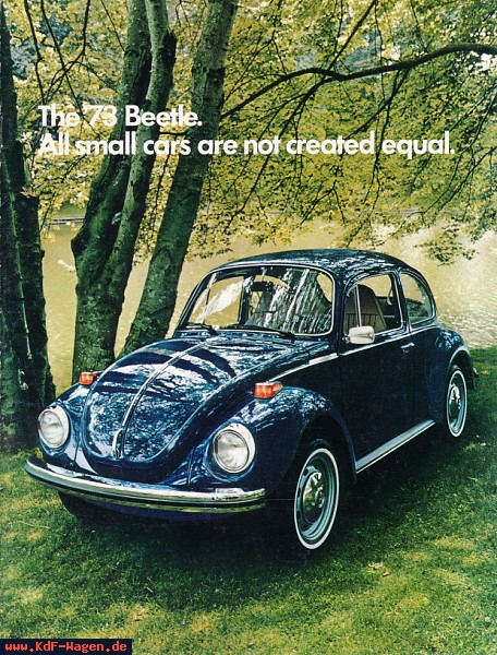 VW - 1973 - The ´73 Beetle. All small cars all not created equal. - 33-11-36010 - [5045]-1