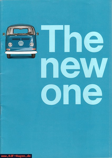 VW - 1968 - The new one - 151.513.29  8/68 - [5047]-1