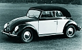 VW - 1950 - Beetle Convertible - [5418]
