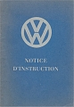 VW - 1949 - Notice d´Instruction - [5528]