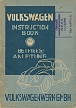 VW - 1948 - Volkswagen Instruction Book - Betriebsanleitung - 8.48 - [5530]