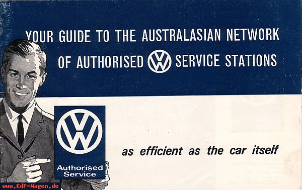 VW - 1967 - Your guide to the australazian network ... - [5532]-1