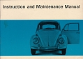VW - 1966 - Instruction and Maintenance Manual - 158.210.00  8.66 - [5543]