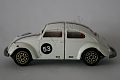 VW - Beetle - Politoys - 1/43  (100mm) - N° W 2 - Herbie, pulls apart in the middle - [6267]