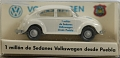 VW - Beetle - Wiking - 1/87 - 1 million de Sedanes Volkswagen desde Puebla - [6373]