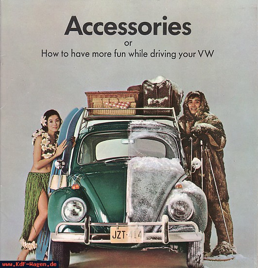 VW - 1966 - Accessories or How to have more fun while driving your VW - 43-00-60451 - [6491]-1