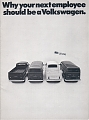VW - 1970 - Why your next employee should be a Volkswagen. - 33-21-06010 - [6502]