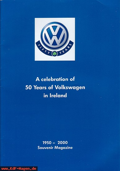 VW - 2000 - A celebration of 50 years of Volkswagen in Ireland - [6525]-1