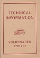 VW - 1945 - Technical Information - May 1945 - [6708]