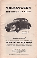 VW - 1950 - Volkswagen Instruction Book - März 1948 - [6838]