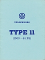 VW - 1968 - Type 11 (1500 - 44PS) - [7139]