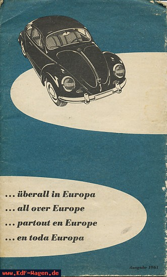 VW - 1961 - ... überall in Europa - 156 641 82 - [7140]-1