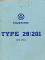VW - 1972 - Type 26/201 (50PS) - [7153]
