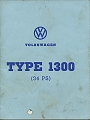 VW - 1971 - Type 1300 (34 PS) - [7154]
