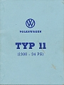 VW - 1969 - Type 11 (1300 - 34 PS) - [7155]