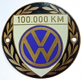 VW - 1954 - 100.000 km - badge for the belgian market - [7504]
