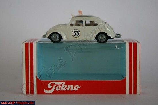VW - (vw_t1) - Tekno - 1/43  (100mm) - 819 - VW Herbie - [7627]-4