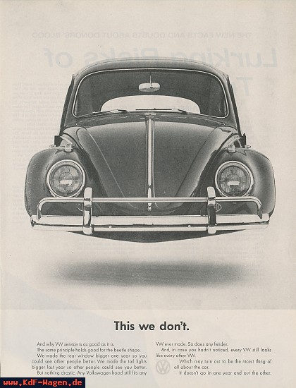 VW - 1963 - This we don´t. - [7753]-1
