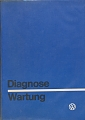VW - 1974 - Diagnose, Wartung - 0.00.541.111.00   8/74 - [7769]