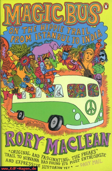 VW - Magic Bus: On the Hippie Trail from Istanbul to India - Rory MacLean - no - [7819]-1