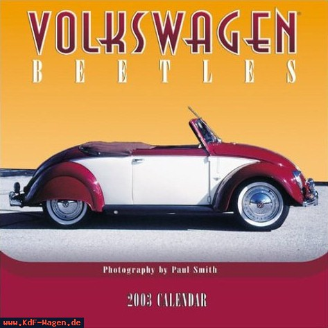 VW - 2003 - Volkswagen Beetles 2003 - 978-0763149079 - [7881]-1