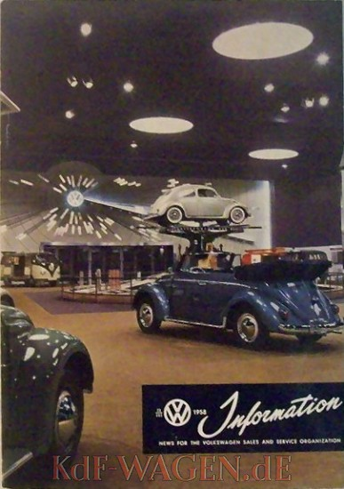 VW - 1958 - VW Information - English version - [8014]-1