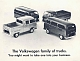 VW Prospekte - The Volkswagen family of trucks.,1968