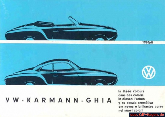 VW - 1960 - VW Karmann Ghia - [8069]-1