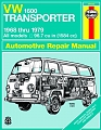 VW - VW 1600 Transporter Automotive Repair Manual: all models, 1968 thru 1979 - Haynes - 0 85696 660 6 - [8078]