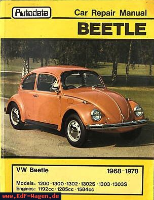 VW - Car Repair Manual Beetle - [8097]-1
