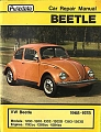 VW - Car Repair Manual Beetle - [8097]