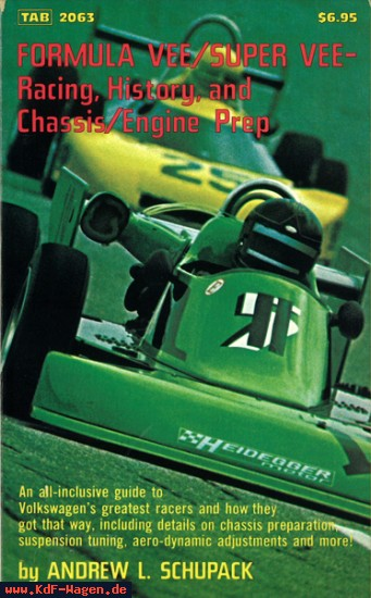 VW - Formula Vee/Super Vee - Racing, History and Chassis/Engine Prep - Andrew L. Schupack - 3446406212 - [8101]-1