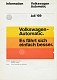 VW brochures - Volkswagen Automatic,1969,130.019.00 6/69